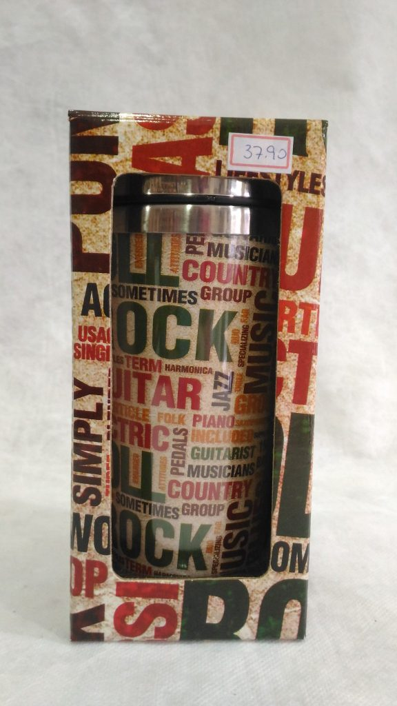 Copo Inox Térmico - Rock Roll